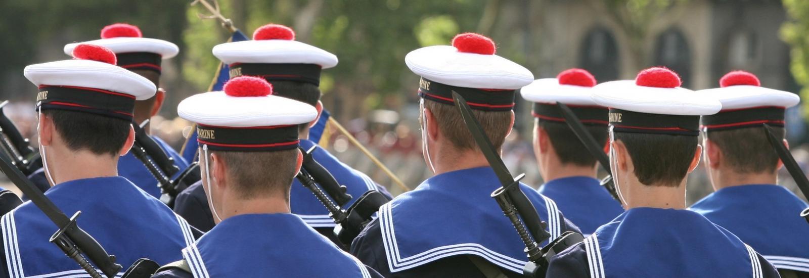 La Marine nationale française compte 39 000 marins.