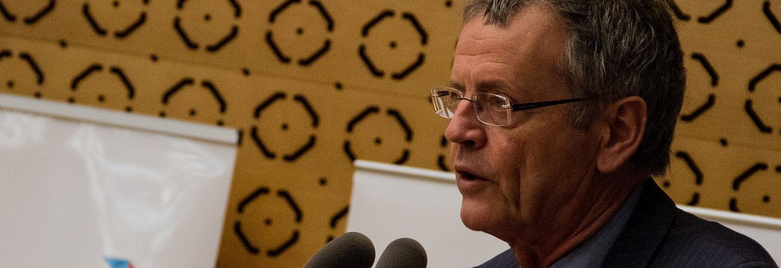 Pascal Boniface, directeur de l'IRIS (Institut de relations internationales et stratégiques)
