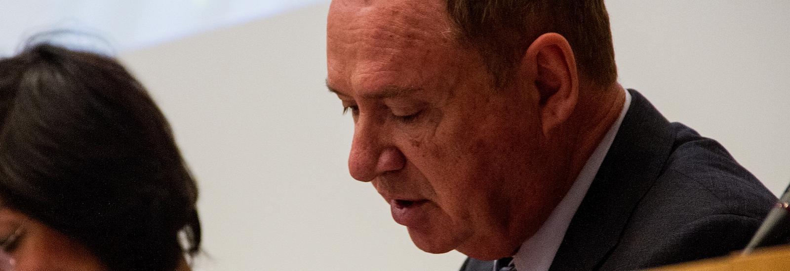 Simon Sutour, sénateur du Gard